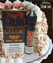 fryd cream cake 60ml 3mg 6mg