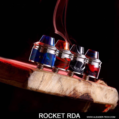 authentic rockket rda from aleader