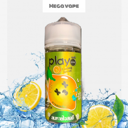 play more lemon 3mg 100ml