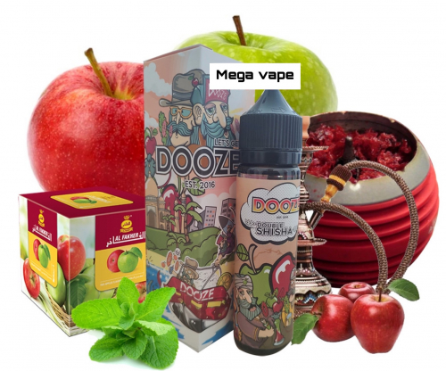 dooze double shisha 60ml 3mg