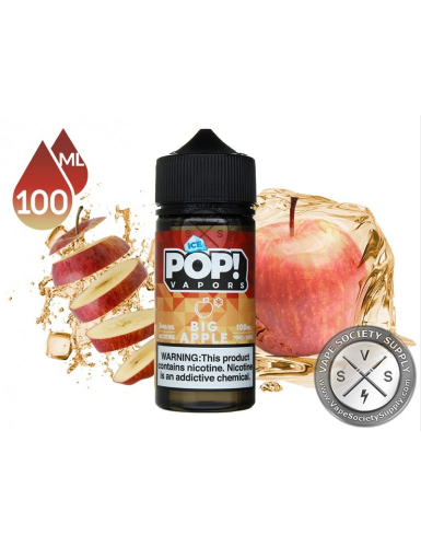 usa iced pop apple 100ml 3mg