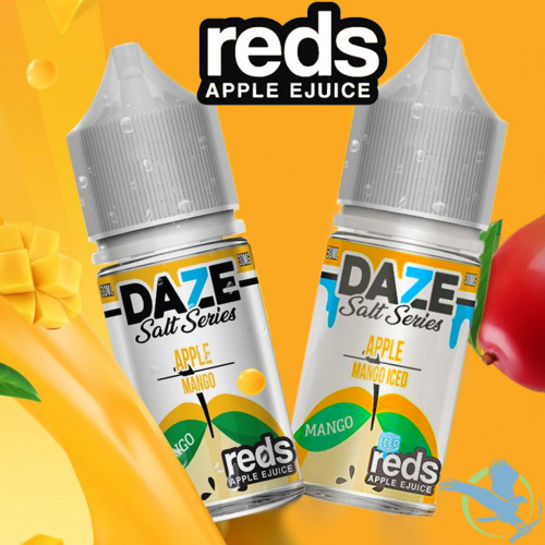 usa salt 7 daze apple mango 30ml 30mg