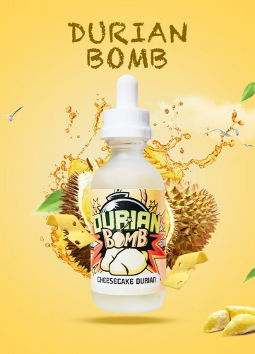 durian bomb 60ml 3mg
