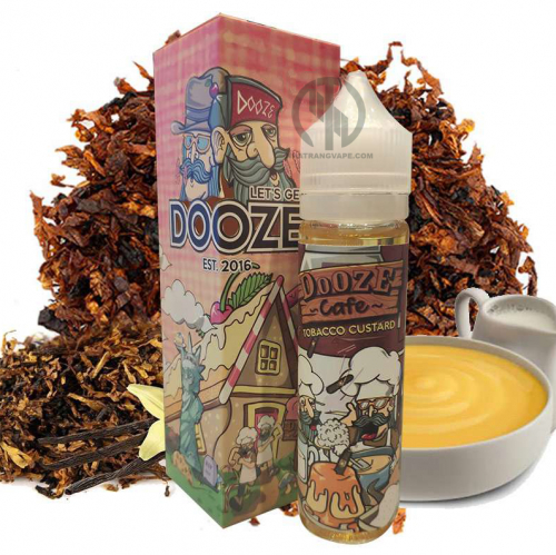 Malaysa dooze tobacco custard 60ml 3mg