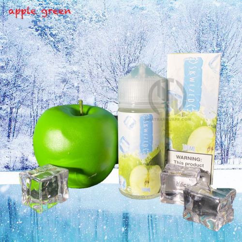 xskw apple green 100ml 3mg 6mg