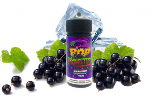 Pop Monster Blackcurrant (kẹo singum) (100ml)