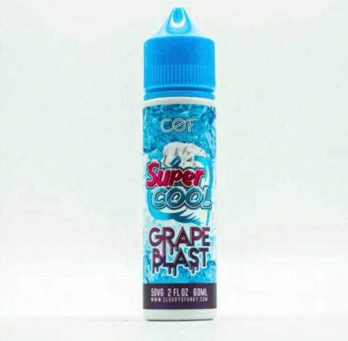Supper Cool Grape Blast(Nho) (60ml)