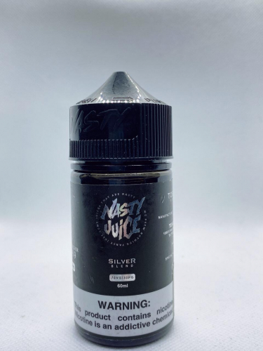 Nasty Crush Silver Blend(Thuốc Lá Vanila) (60ml)