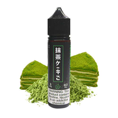 saucy matcha tea 60ml 3mg