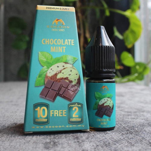 malaysia cocoon chocolate mint 10ml 30mg